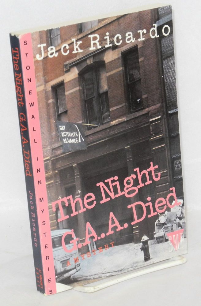 The night G.A.A. died; a mystery. Jack Ricardo.