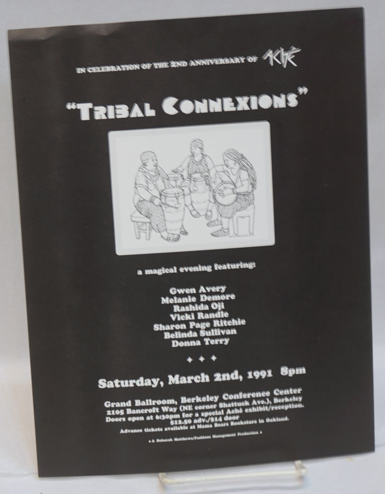 Tribal Connexions: a celebration of 2 years of Aché [handbill]