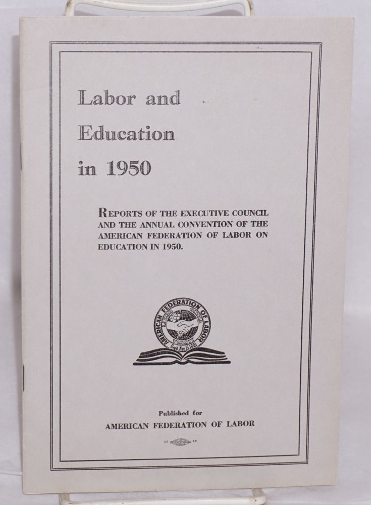 Labor and education in 1950