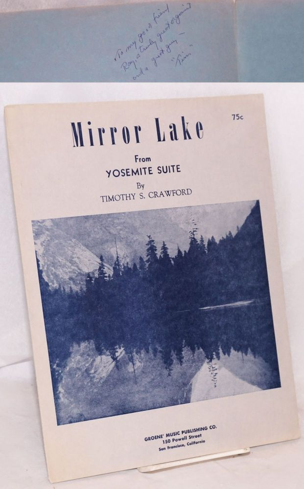 Mirror Lake from Yosemite Suite. Timothy S. Crawford.