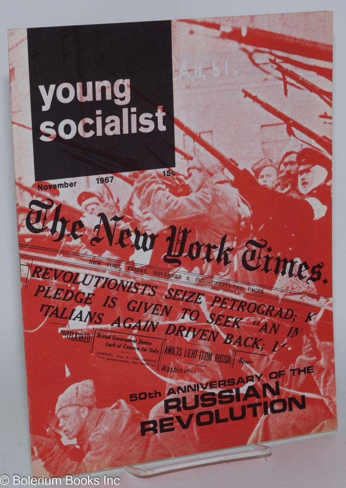 Young socialist, volume 11, number 2 (November 1967). Young Socialist Alliance.