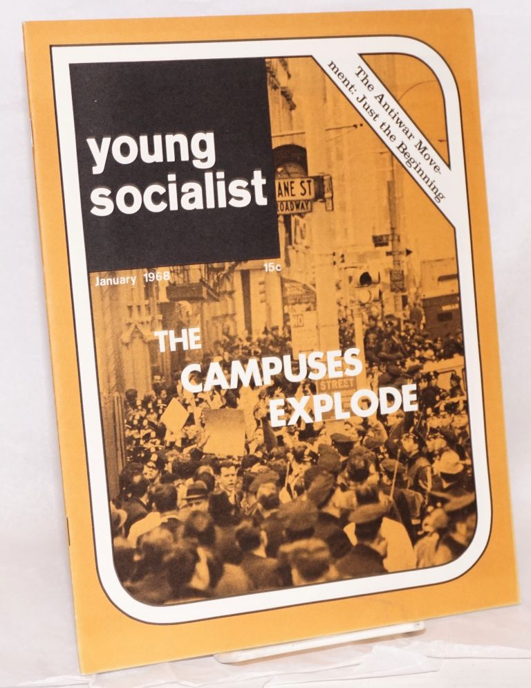 Young socialist, volume 11, number 4 (January 1968). Young Socialist Alliance.