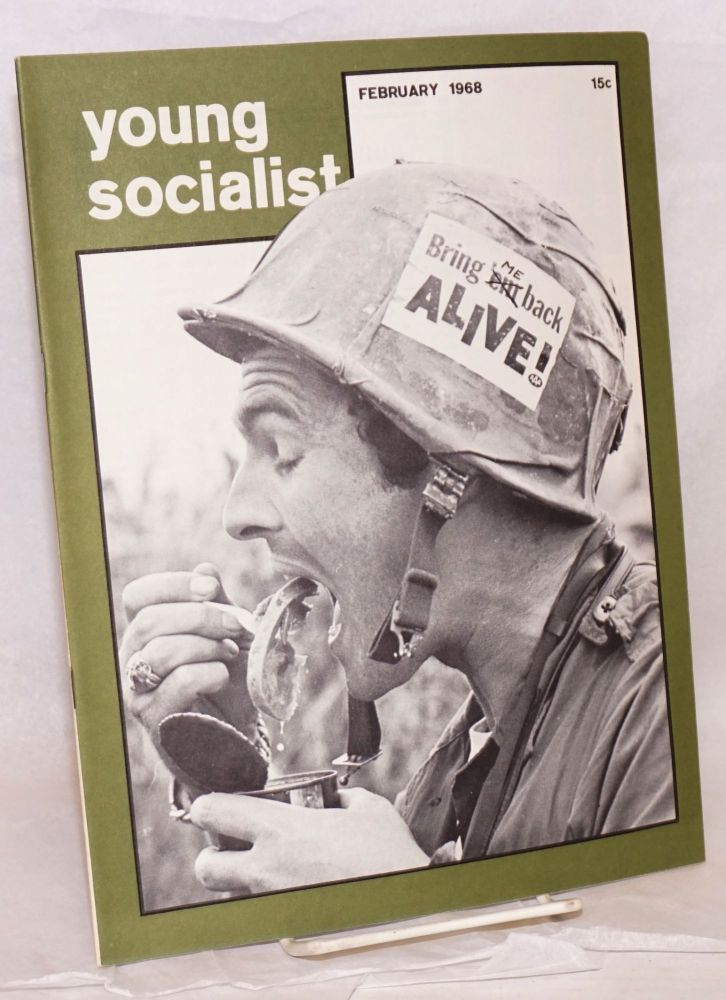 Young socialist, volume 11, number (5) (February 1968). Young Socialist Alliance.