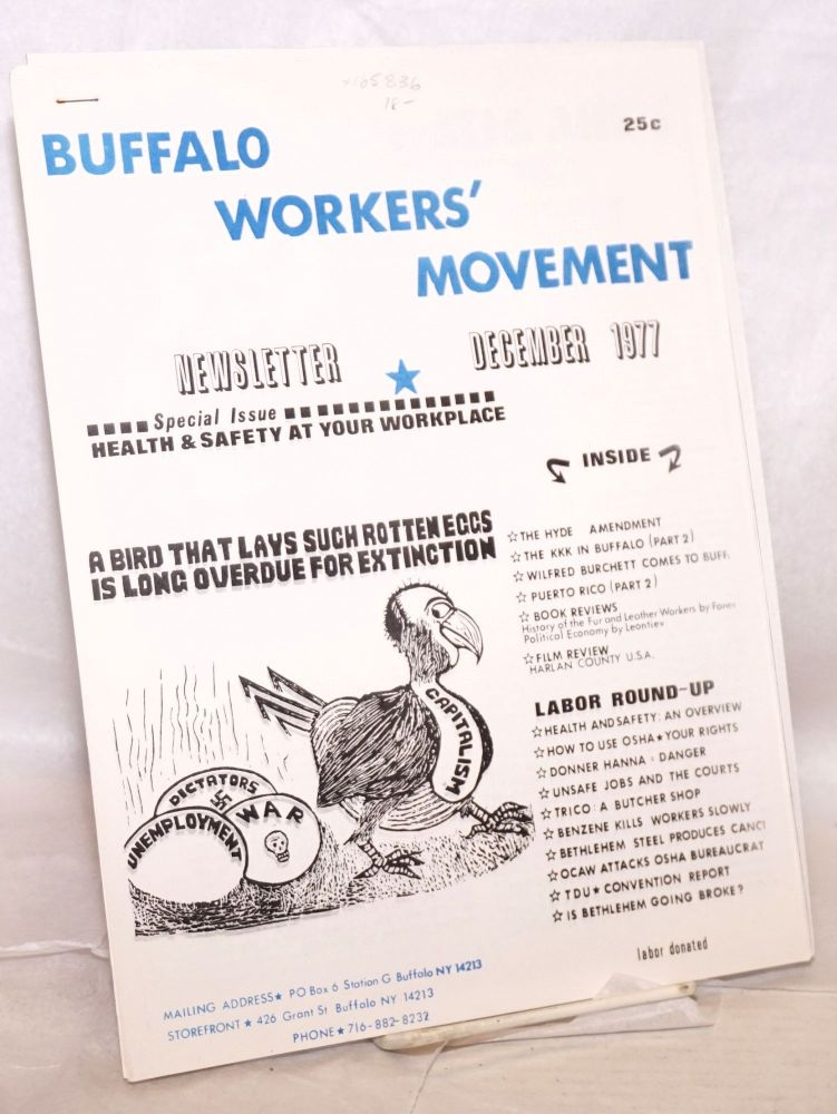 Buffalo Workers Movement Newsletter, December 1977