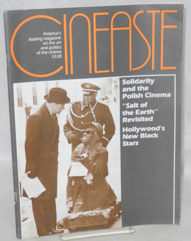 "Cinéaste; vol. XIII, no. 3; Solidarity and the Polish Cinema, ""Salt of the Earth"" revisited, Hollywood's New Black stars"