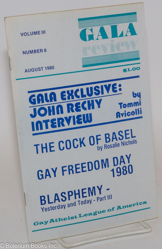 GALA Review; vol. 3, #8 August 1980