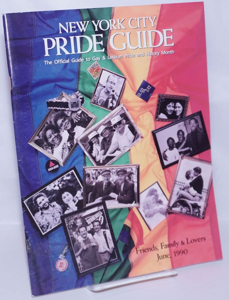 1990 New York Pride Guide: the official guide to lesbian and gay pride and history month