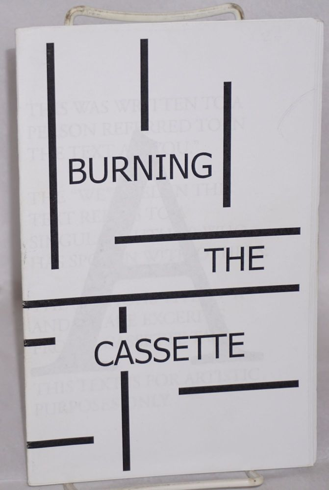 Burning the cassette