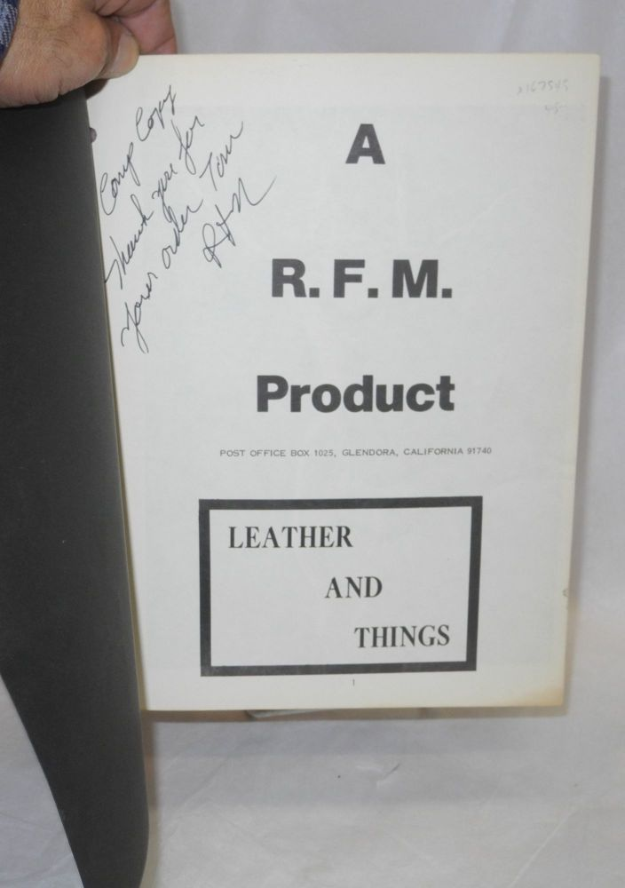 Leather and things. RFM.