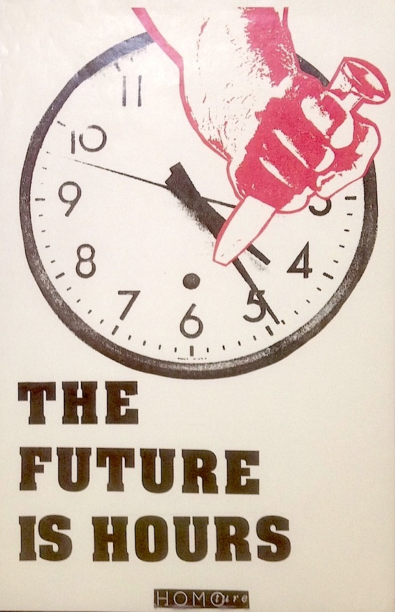 The future is hours [poster]. Nic Lawson.