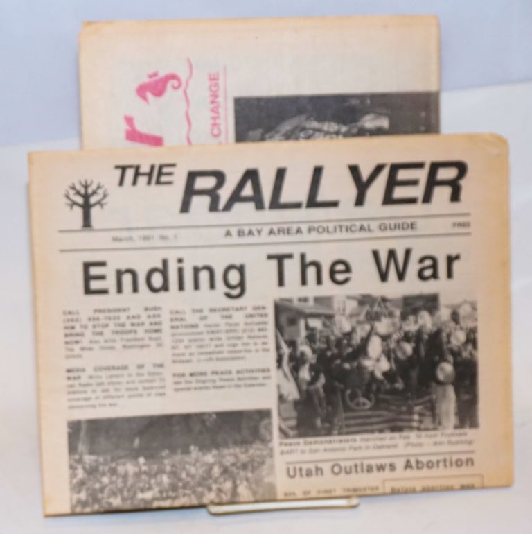 The Rallyer. Bay Area Political Guide [first two issues]