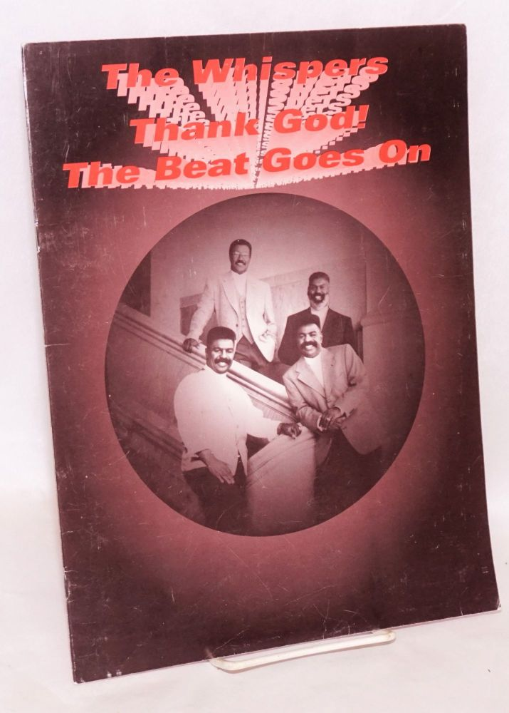 Thank God! The beat goes on starring The Whispers featuring Alyson Williams and Loren Dean Harper. The Whispers.