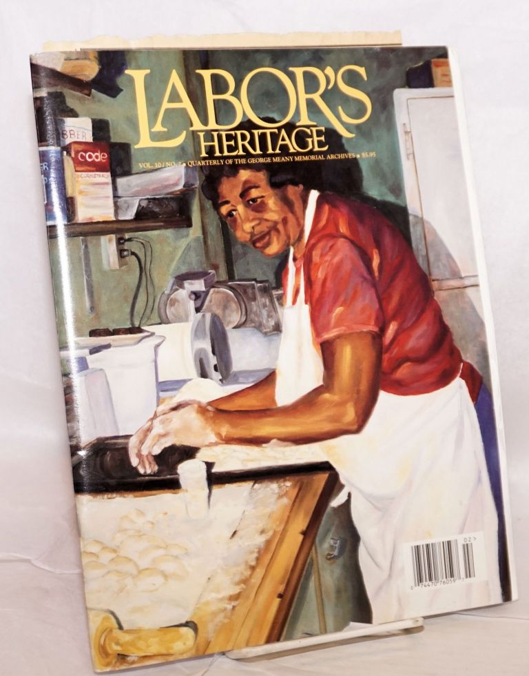 Excavating canal workers' lives the research odyssey of a novelist [article in] Labor's Heritage v 10 n 2 Fall/Winter 1999 [plus 5 typed letters signed]. Virginia Warner Brodine.