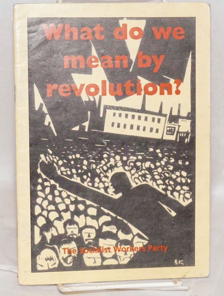 What do we mean by revolution?