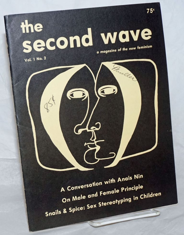 The second wave: a magazine of the new feminism; vol. 1, # 3