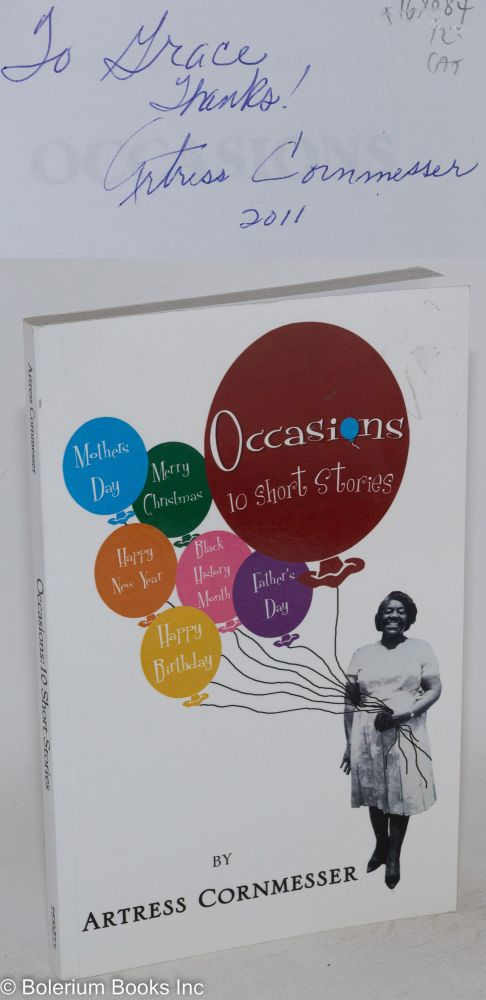 Occasions: 10 short stories. Artress Cornmesser.