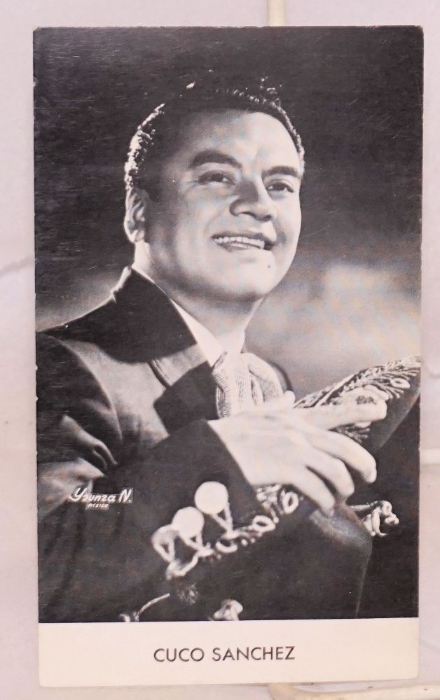 Cuco Sanchez [photographic publicity card