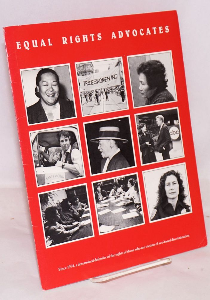 Equal Rights Advocates Annual 1984-1985 Report. Equal Rights Advocates.