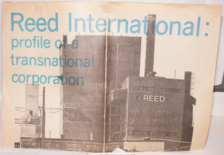 Reed International: profile of a transnational coporation. Ontario Public Interest Research Group.