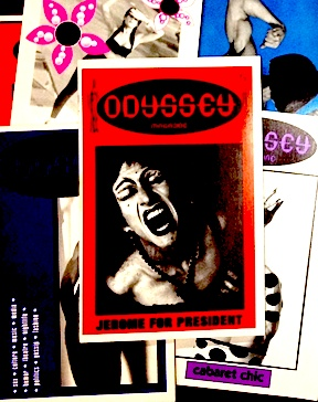 Odyssey magazine [broken run of 109 issues v1 #1 - v15 #12, Feb. 1992 - June 2006]. Daniel Willson.