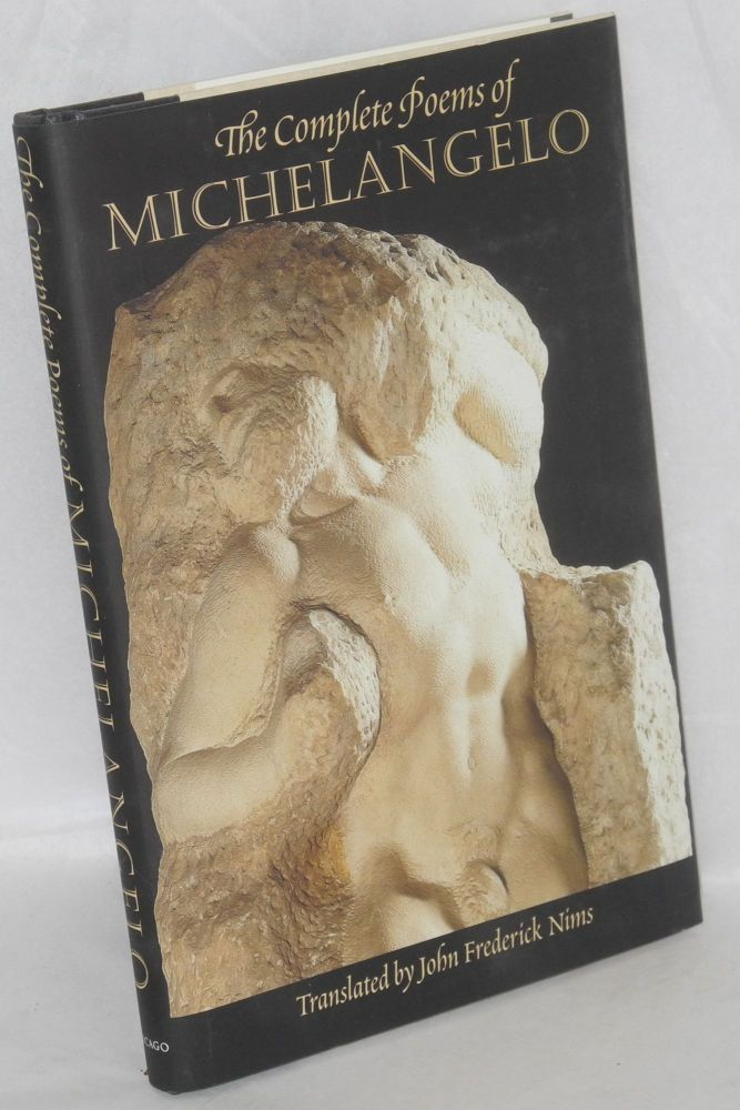 The complete poems of Michelangelo. Michelangelo, John Frederick Nims.
