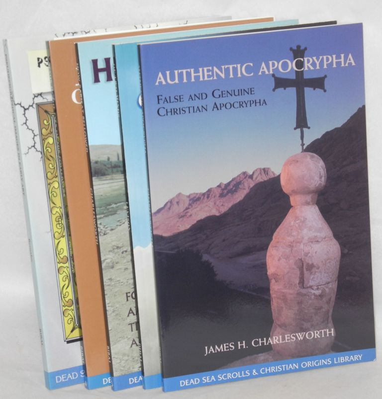 Dead Sea scrolls & Christian origins library, volumes 1, 2, 3 , 4, 6 [together]: Of two minds / Authentic apocrypha / How Barisat bellowed / Jesus in the eyes of his followers / Pseudepigraphical images in early art. John R. Levison, James H. Charlesworth, Petr Pokorny, Massimo Bernabo, respectively.