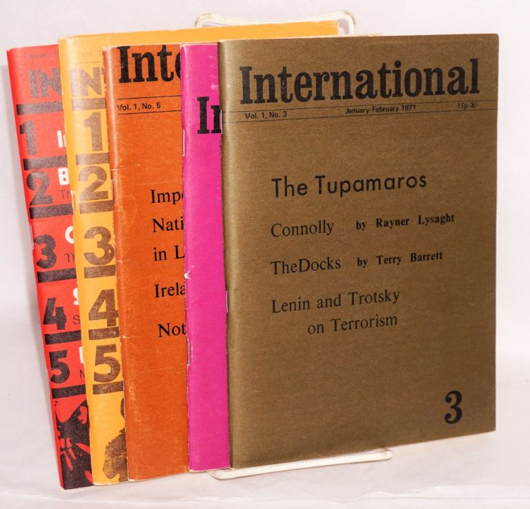 International [5 issues] [nos. 3, 4, 5, 7, 8]