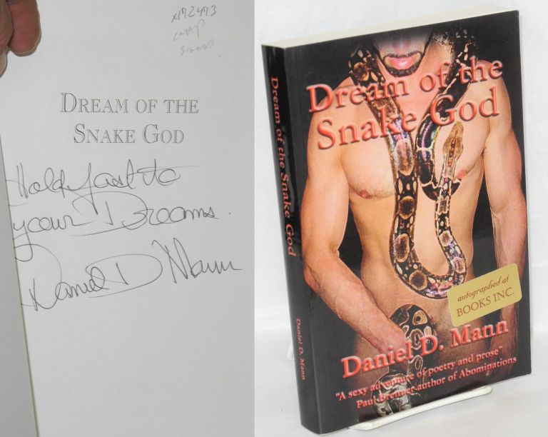 Dream of the snake god. Daniel D. Mann.