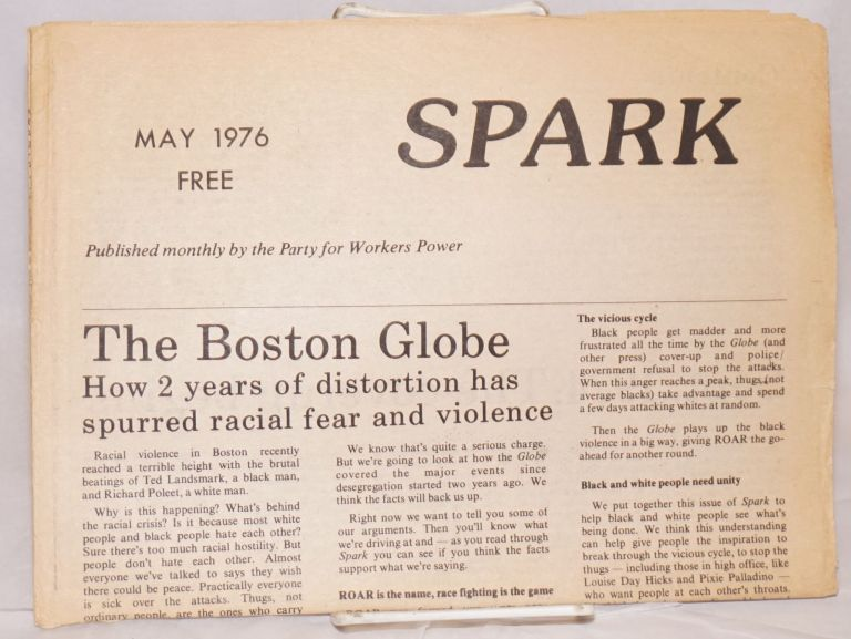 Spark. [May 1976]. Party for Workers Power.