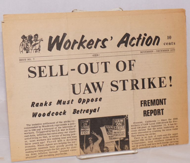 Workers' Action. Issue no. 7 (November-December 1970). Committee for a. Labor Party.