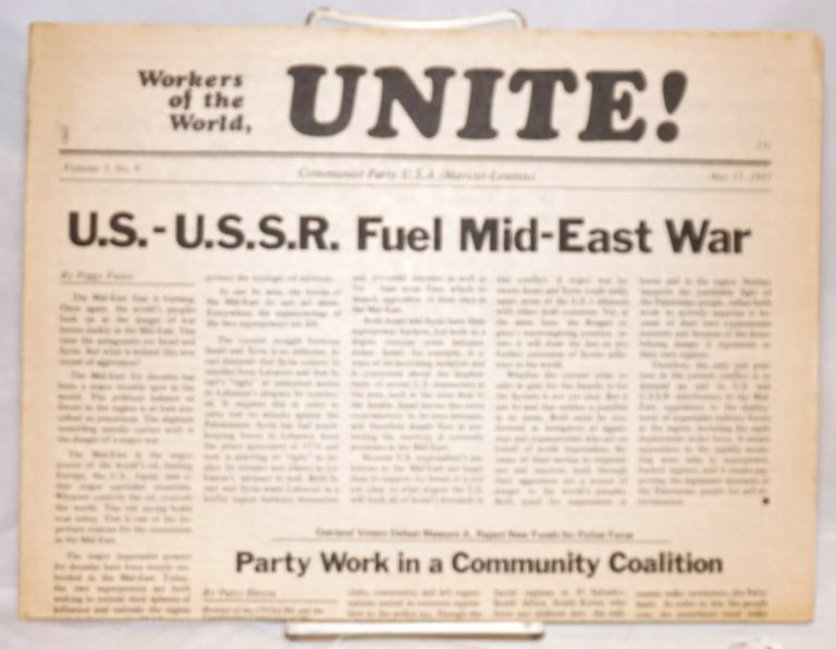 Workers of the world, unite! [two issues]