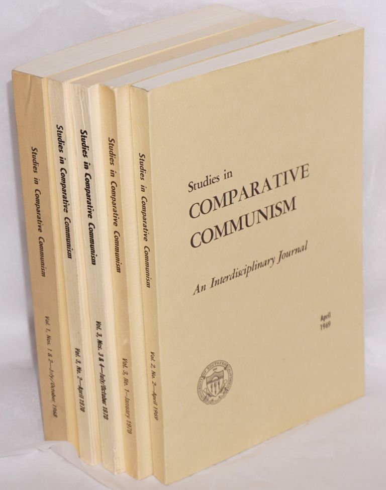 Studies in comparative communism. [five issues]