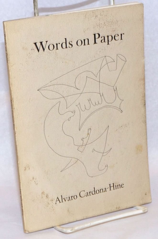 Words on Paper. Alvaro Cardona-Hine.