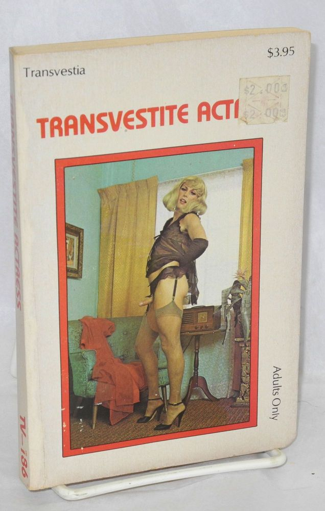 Transvestite actress. Anonymous.