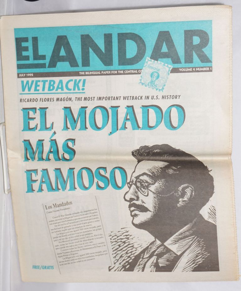 El Andar: bilingual monthly for the Central Coast, vol. 4 no. 1, July 1992