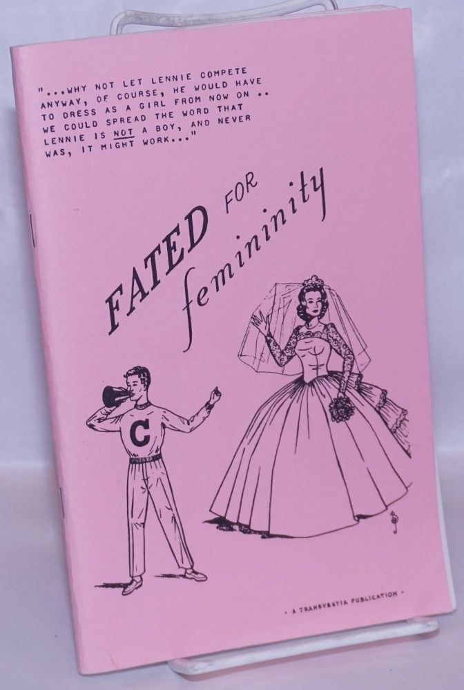 Fated for femininity. Anonymous, BJ, Barbara Jean, Sandy Thomas? illustrations.