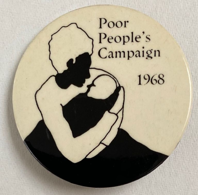 Poor People's Campaign 1968 [pinback button]