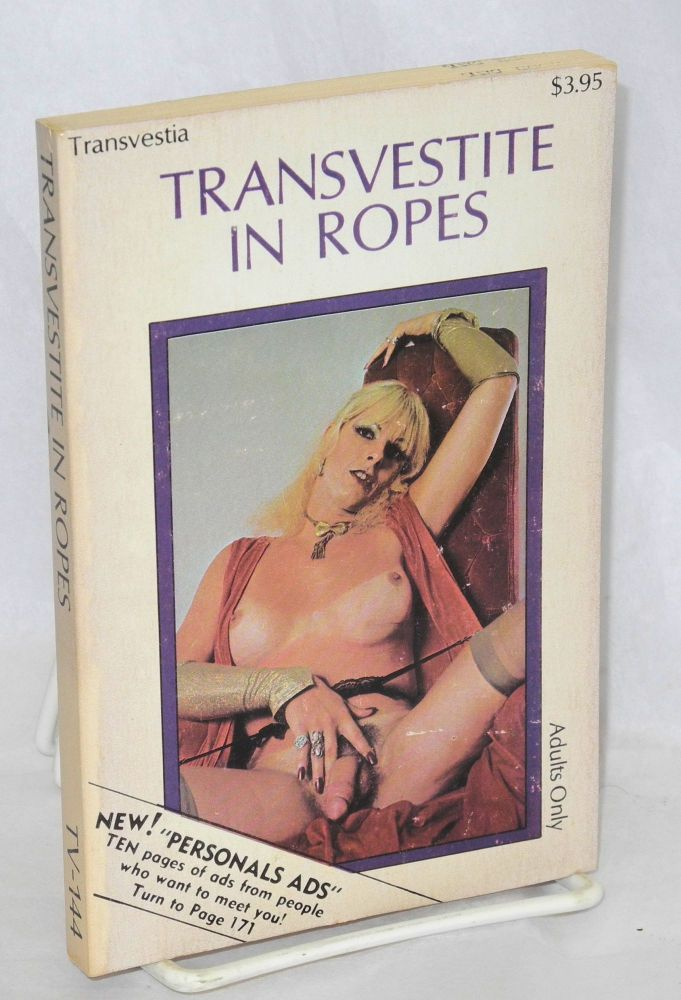 Transvestite in ropes. Anonymous.