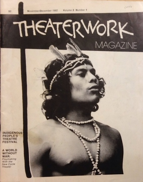 Theaterwork magazine: vol. 3 no. 1, November/December 1982