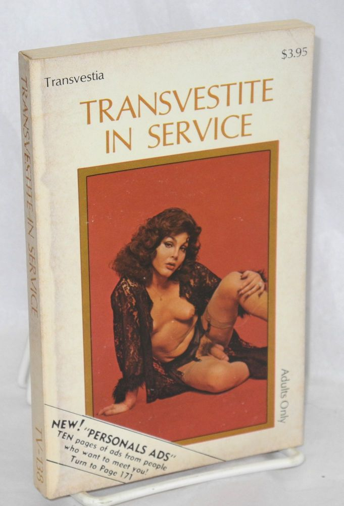 Transvestite in service. Anonymous.