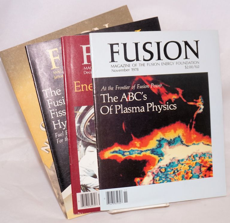 Fusion [three issues; Nov. and Dec. 1978, January 1979]