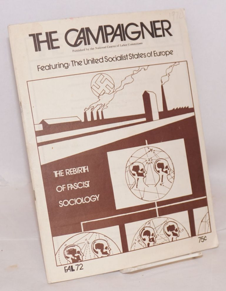 The campaigner, vol. 5, no. 4, Fall, 1972;. Lyndon LaRouche.