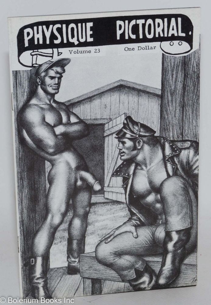 Physique pictorial: vol. 23 August, 1973. Tom of Finland.