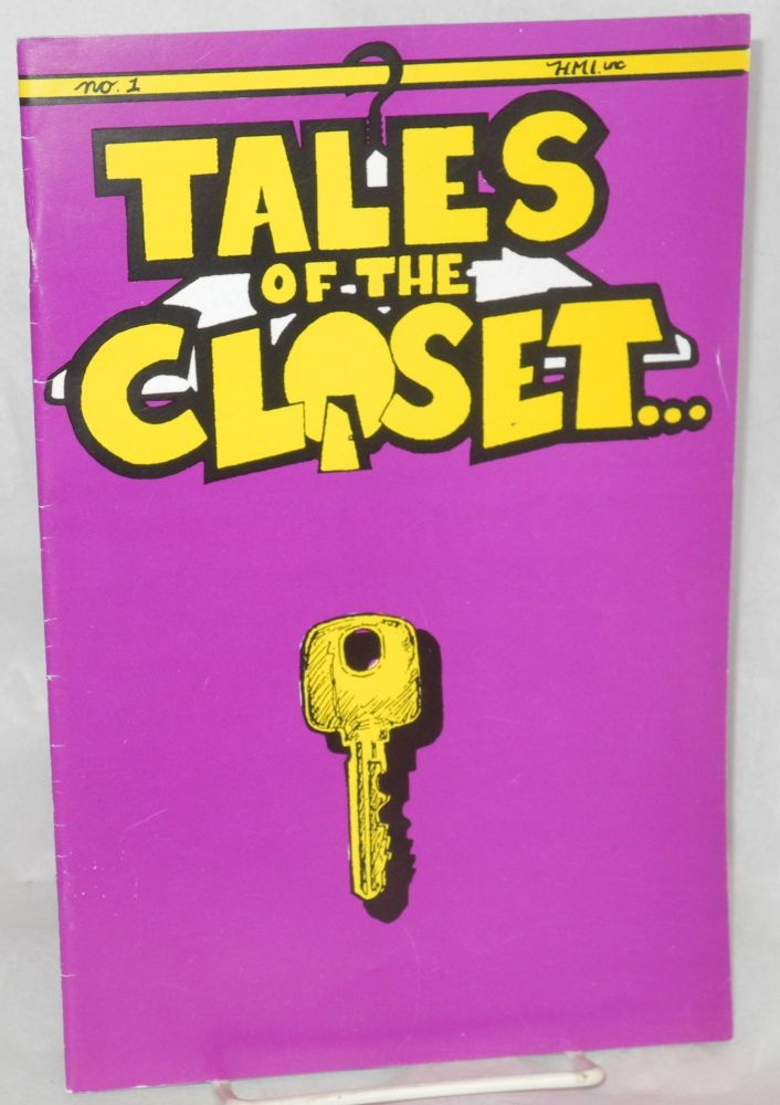Tales of the closet; vol. 1, no. 1, Summer/Fall 1987: Summerfall. Ivan Velez, Jr.