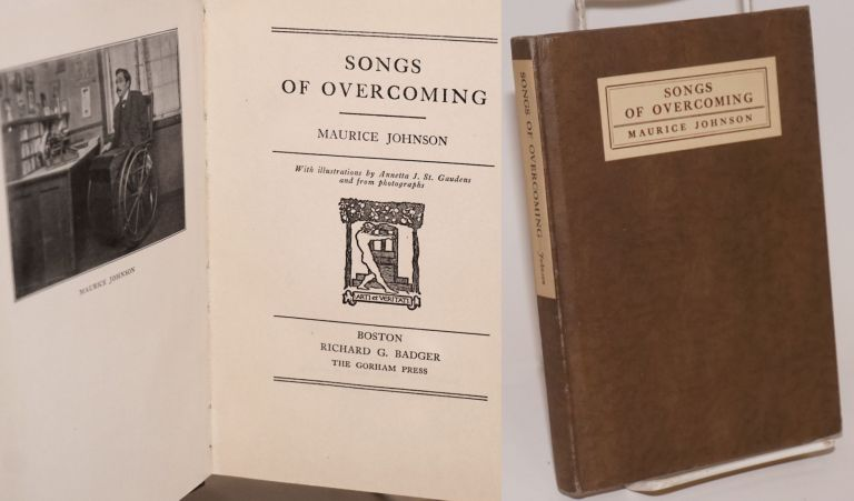 Songs of overcoming. With illustrations by Annetta J. St. Gaudens and from photographs. Maurice Johnson.