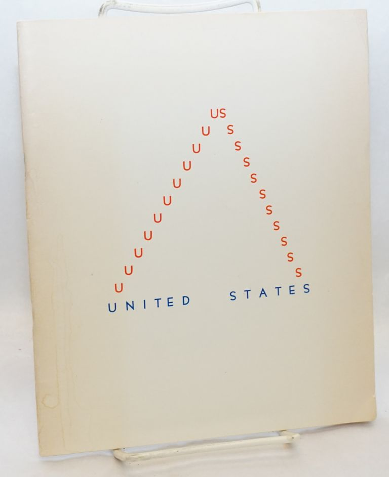 United States, an anthology of political poetry. Fred Thaballa, ed.