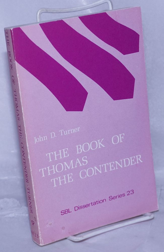 The Book of Thomas the Contender from Codex II of the Cairo Gnostic Library from Nag Hammadi (CG II, 7): The Coptic Text with Translation. John Douglas Turner, introduction and commentary.