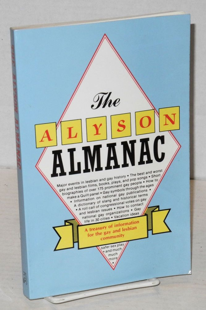 The Alyson almanac; a treasury of information for the gay and lesbian community