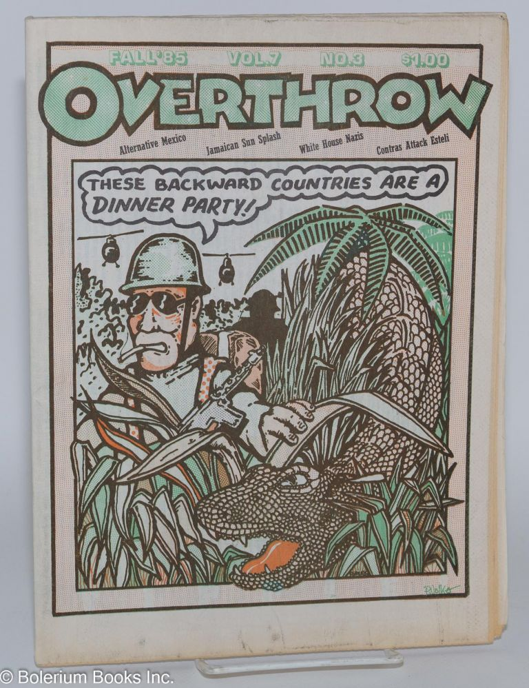 Overthrow: A Yippie Publication. Vol. 7, no. 3 (Fall 1985)