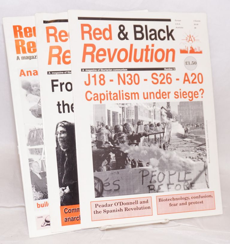 Red and Black Revolution: a magazine of libertarian communism. (nos. 5, 6, 7)